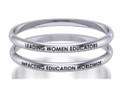 DKG Pair of Stainless Steel Bangle Bracelets